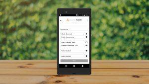 Service App Attach Documents Screen