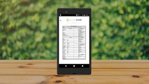 Service App PDF Document Viewer